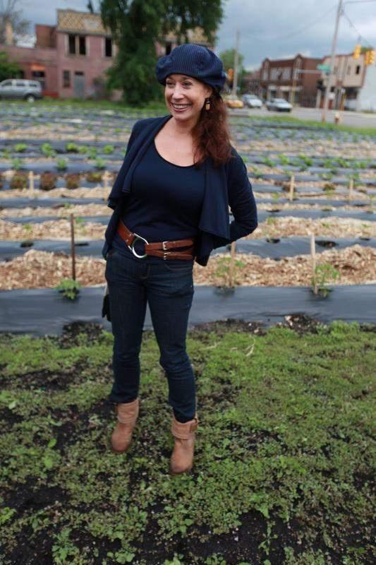 Taja Sevelle's Urban Farming began in Detroit