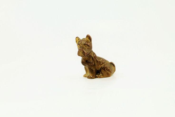 Terrier, Scottie Dog, Brass Scottie Dog by ClockworkRummage on Etsy