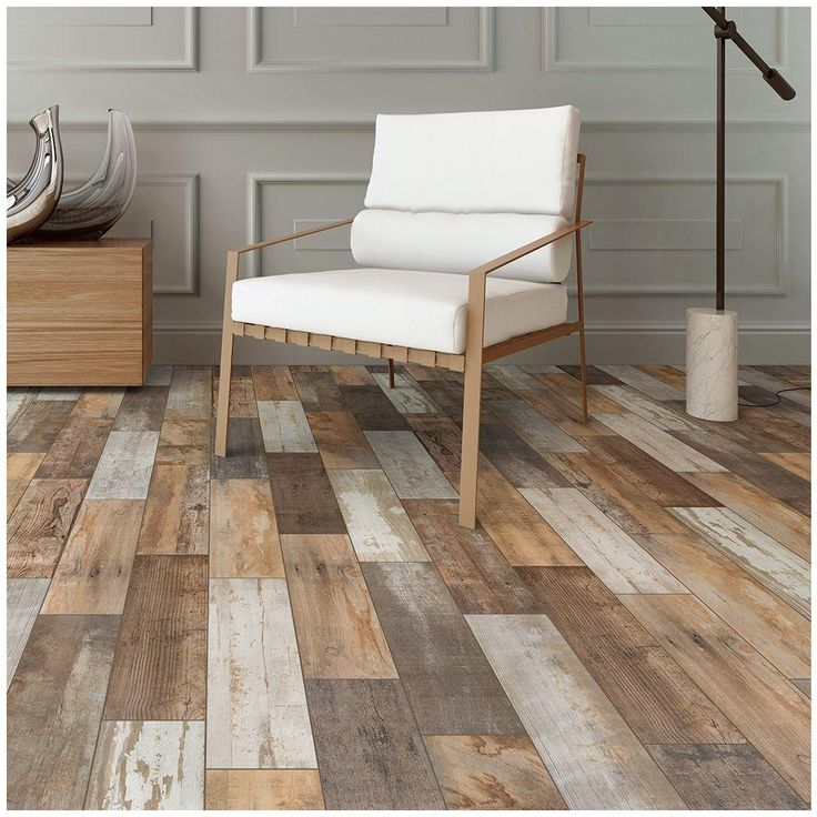 I Love this look! it would cost for the tile only 398 for the lower level of the house at 1500 ft2. MARAZZI Montagna Wood Vintage Chic 6 in. x 24 in. Porcelain Floor and Wall Tile (14.53 sq. ft. / case)-ULRW624HD1PR at The Home Depot:
