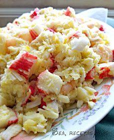 Recetas de cocina fáciles y sencillas   Bea, Recetas y más: Salpicón de marisco (Recetas Fitness Pollo)