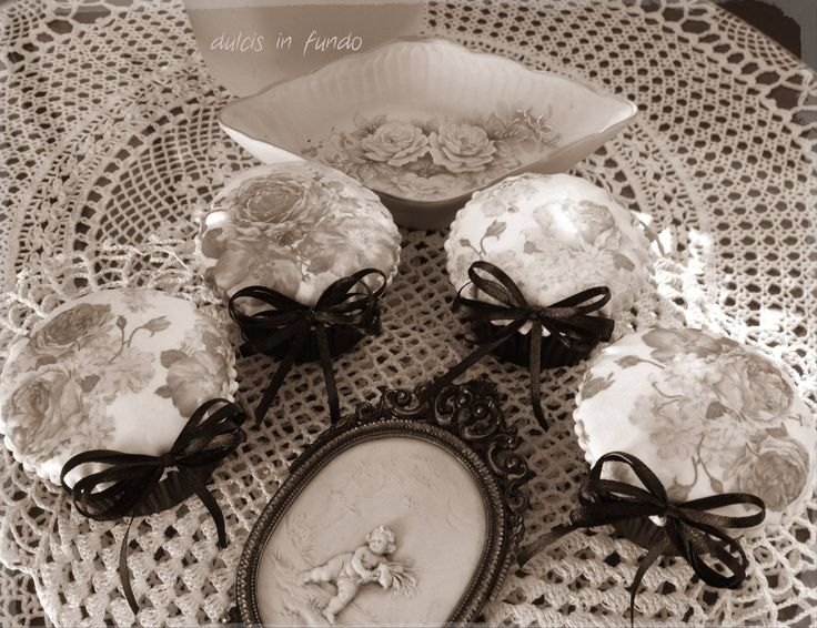 Vintage Cupcake, sofisticate e romantiche! by dulcis in fundo