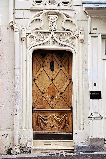 Door in Montmartre, Paris, France~