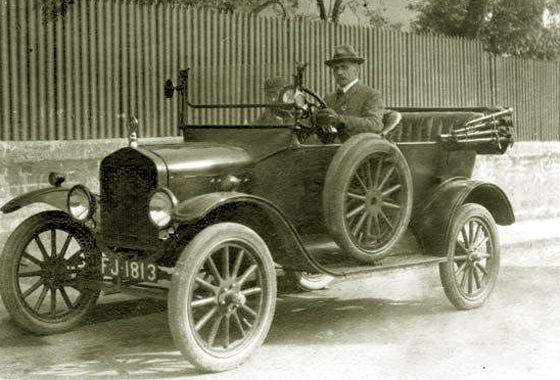 Image result for 1923 Ford Model T Tourer