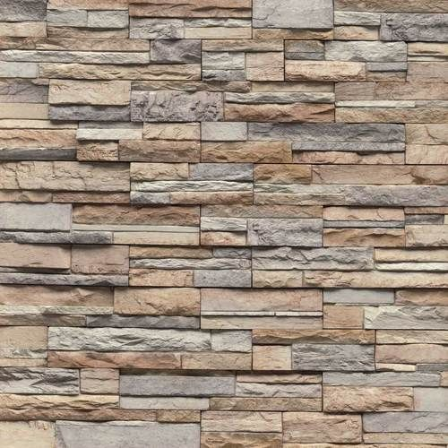 Superb Manufactured Stone Is Used Fro Interiors And Exteriors Spaces , To Imitate  This Natural Look To The Space, I Like It When Is Used Only As An Accent  Wall For ...