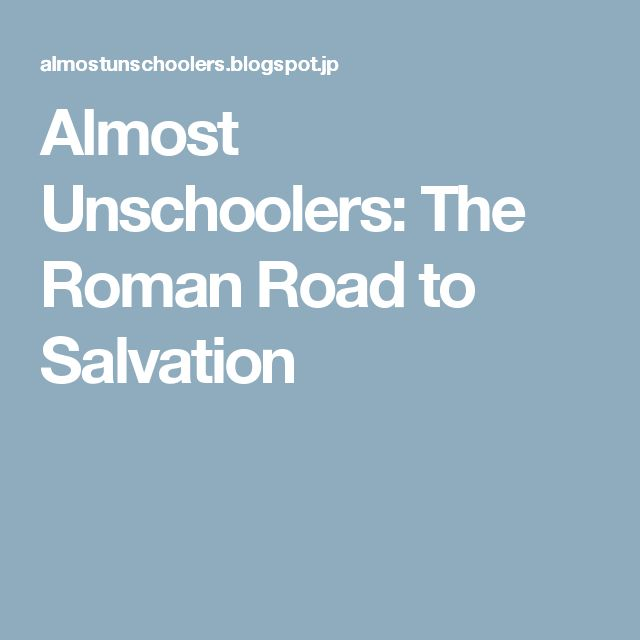 road to salvation premchand question of power Rely on the power of the evangelistic method known as evangelism explosion the questions follow romans road to salvation using scripture from the new.