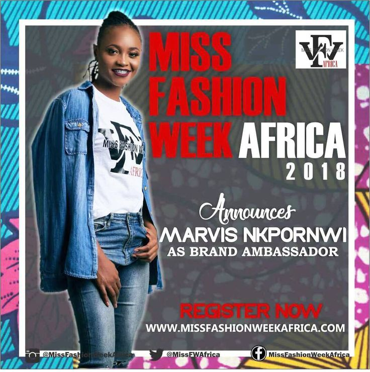 Africa! As registration for main contest startswe are excited to present to you our Miss Fashion Week Africa 2018 Brand AmbassadorMarvis Nkpornwi @therealmarvis. She was one of the finalists from Big Brother Naija 2017 reality show! She is a modelan actress and a rapper! She is passionate about African Youth Empowerment and we are glad she is part of our team!  Afrique!  Au moment de l'inscription au concours principalous sommes ravis de vous présenter notre Miss Fashion Week Africa 2018…