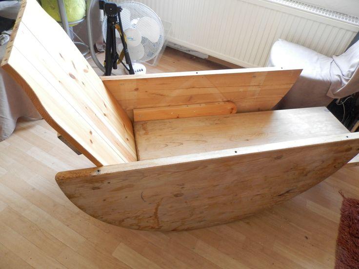 Bauanleitung Schaukelstuhl Holz Bastelanleitung zum selber basteln