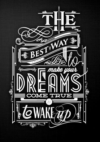 Chalkboard art quote ToniKami ⊱CհαƖҜ ℒЇℕ℮⊰ Dreams