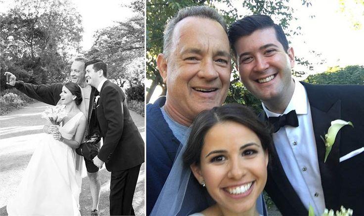 Знаменитый голливудский актер Том Хэнкс принял непосредственное участие в свадебной фотосессии молодоженов Райана и Элизабет во время своей пробежки в Центральном парке в Нью-Йорке, сообщает Huffin…