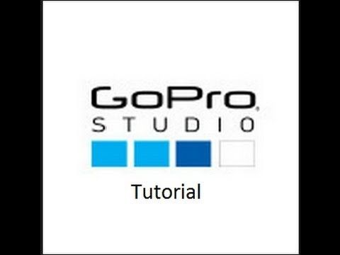 GoPro Studio Tutorial video