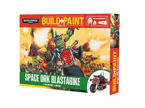 Revell Revell Warhammer 40000 Space Ork Blastabike Build and Paint Set http://www.warandwizards.com