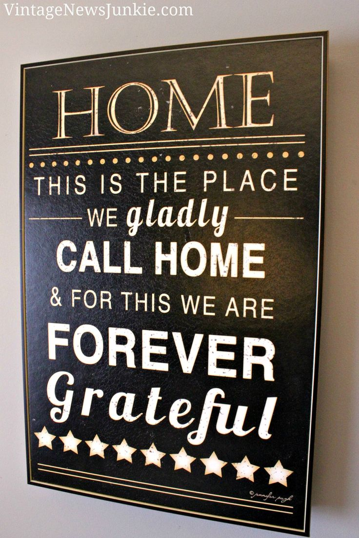 I am Forever Grateful for Home.  #Quote #Thankful #Home