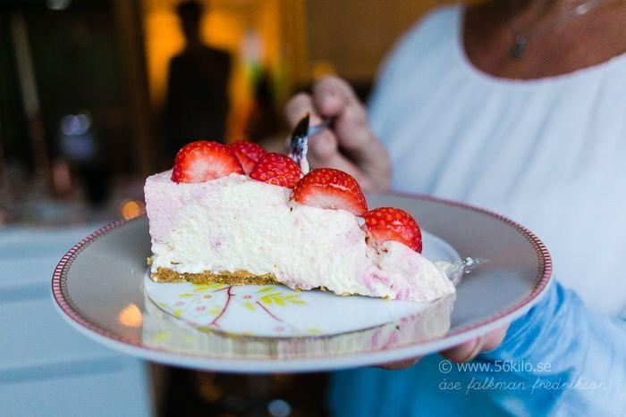 Lime- och Halloncheesecake Glutenfri Low Carb - 56kilo - Inspiration, Hälsa och Livets goda!