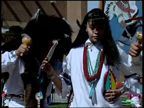 Examples of Deer Dance, Eagle Dance, and Buffalo Dance at the Indian Pueblo Cultural Center in Albuquerque, New Mexico.