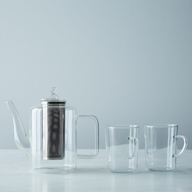 No tempest in this teapot. Teapot with Iron Filter: Food52