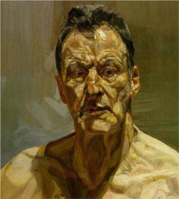 Reflection (Self-Portrait) - Lucian Freud