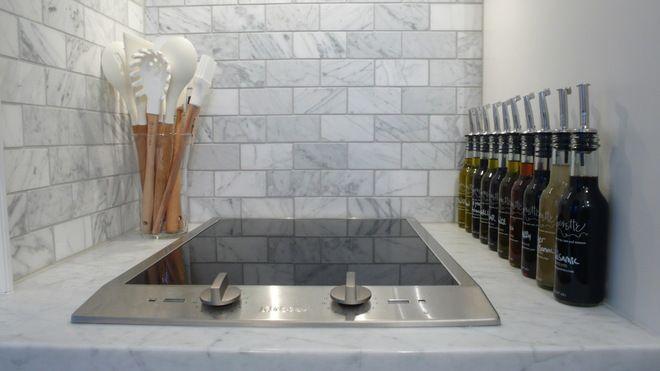 Eclectic Kitchen cooktop