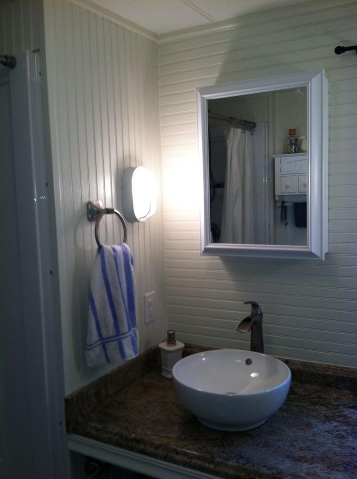 Best 20 Mobile Home Bathrooms Ideas On Pinterest Mobile Home Kitchens Mobile Homes And Cheap