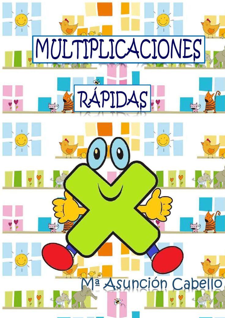 ISSUU - Multiplicaciones rápidas de Educación Primaria. Material para descargar e imprimir.