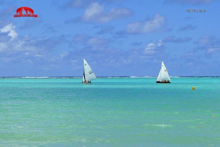 Plachtění na laguně