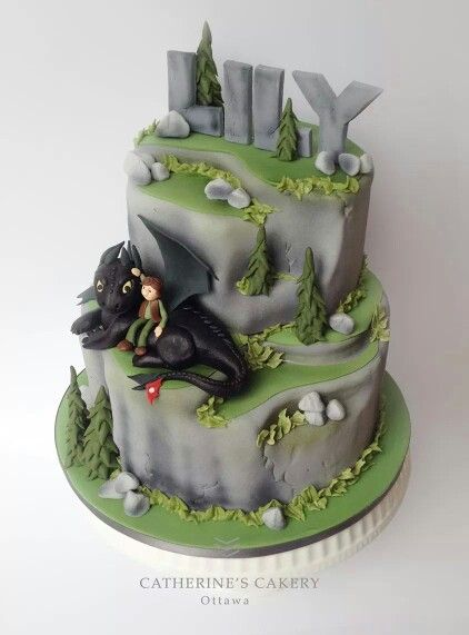 Cake Design Dragon Trainer : Toothless & Hiccup torte bimbi Pinterest Hiccup ...