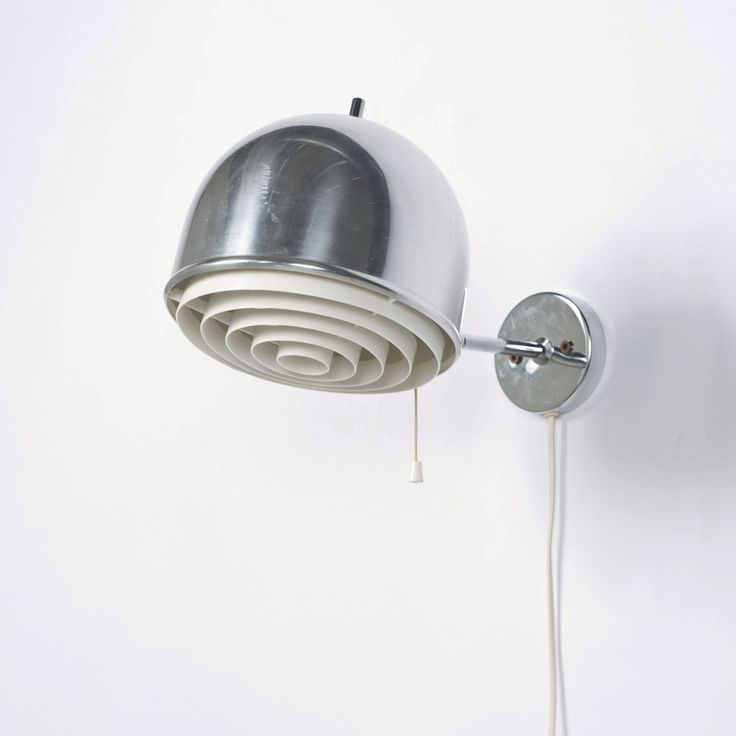 392 best lighting images on pinterest light design light fixtures anonymous chromed metal and plastic wall light by bergboms1960s aloadofball Choice Image
