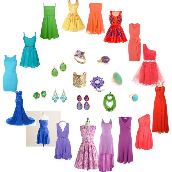 """""""Clear Spring - dresses"""" by adriana-cizikova on Polyvore"""