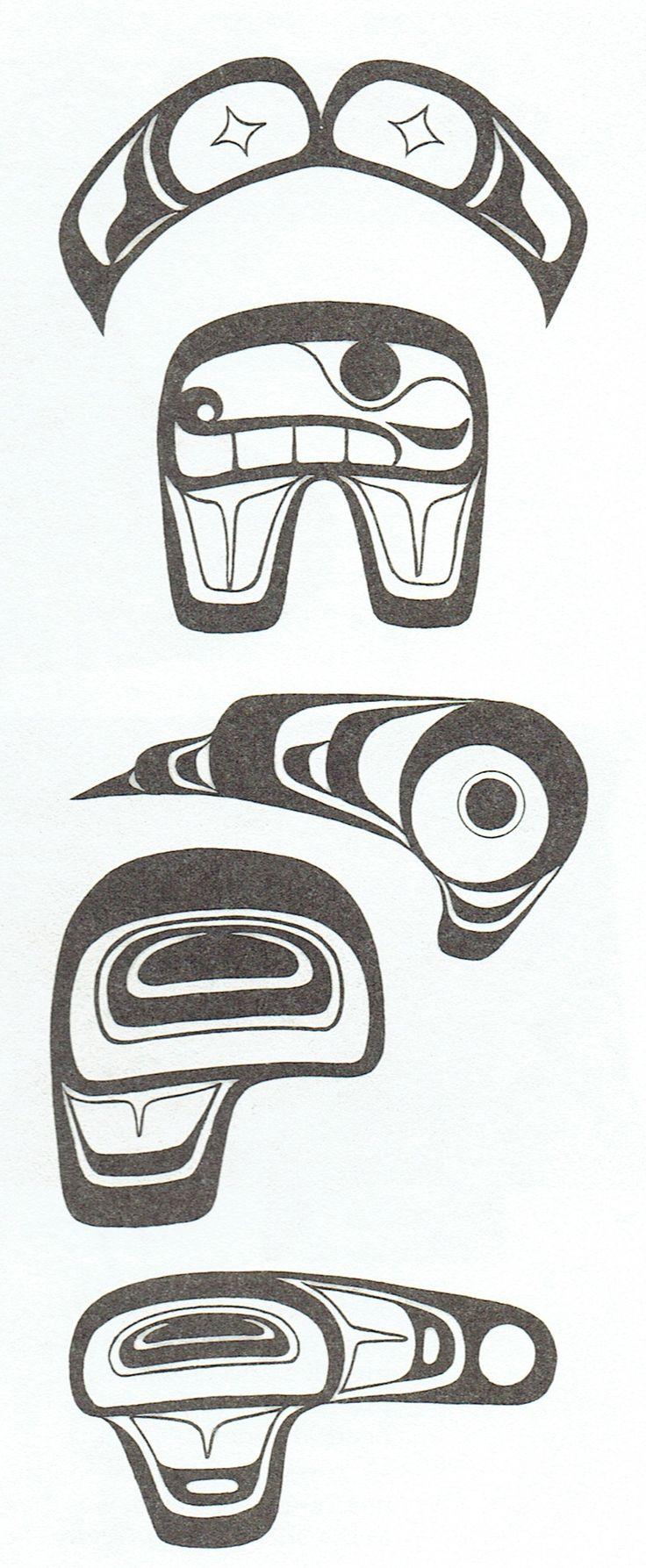 Top 25 ideas about west coast native art design elements for Native design