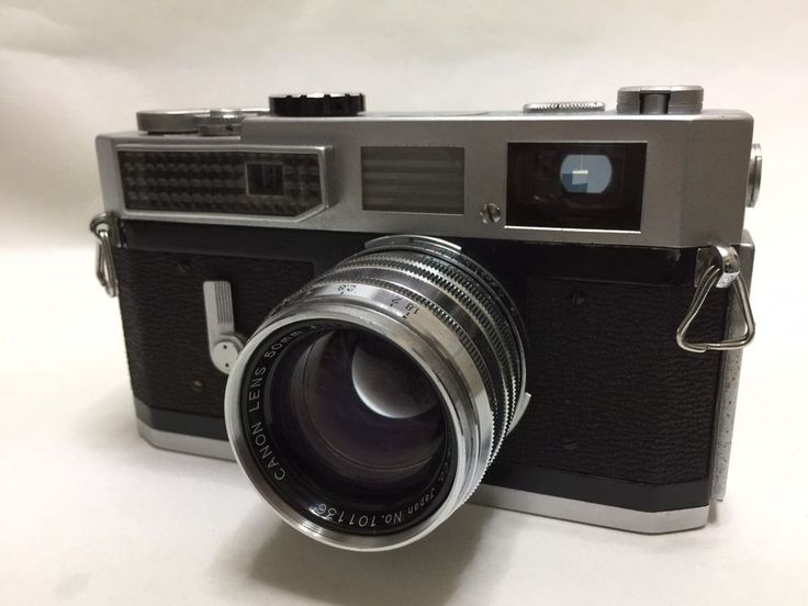 【EXC+++】Canon Model 7 w/ 50mm f1.8 Lens Leica Screw Mount From Japan #30 #Canon