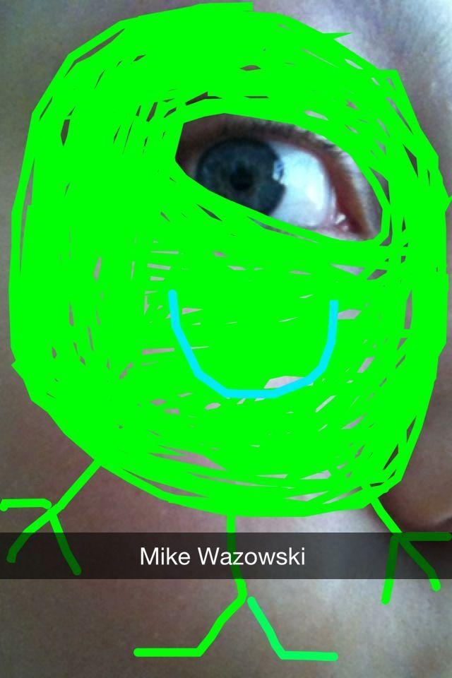 Mike Wazowski on Snapchat...hahahahah! Read More Funny: http://wdb.es/?utm_campaign=wdb.es&utm_medium=pinterest&utm_source=pinterst-description&utm_content=&utm_term=