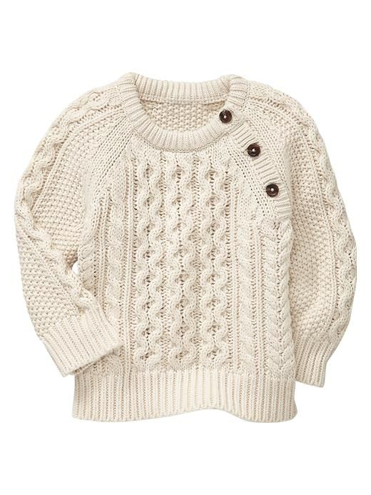 Baby cable knit - Gap