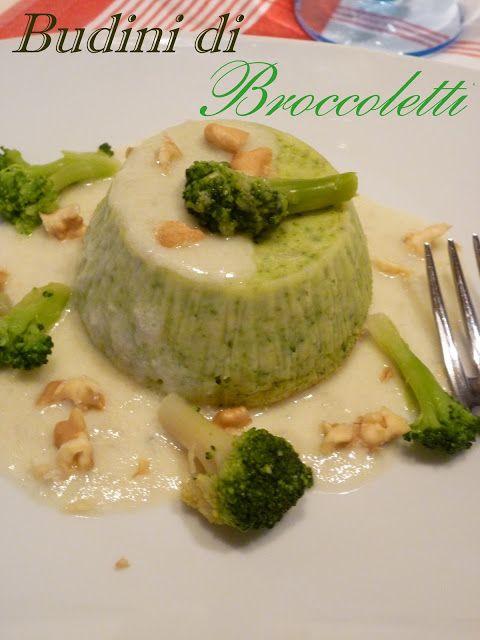 GOLOSA TENTAZIONE...: Budini di broccoletti