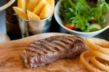Ladies if the thought of having to cook exhausts you before you've even started, then we suggest you whisper in hubby's ear and tell him about the super Meaty Monday Special at the Belon!