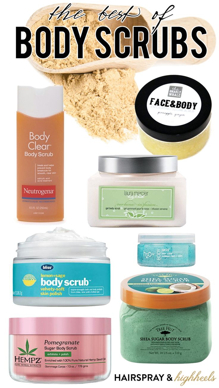 The Best Body Scrubs! From a pre-self tan treat to getting rid of dead and dry skin!