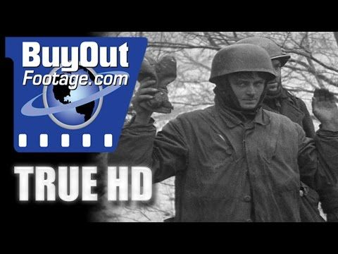 HD Historic Stock Footage WWII BATTLE OF THE BULGE - SIEGE OF BASTOGNE - YouTube