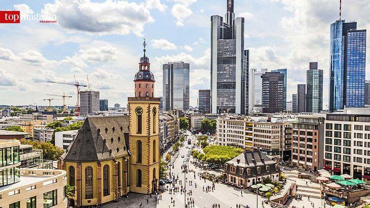 Frankfurt Hauptwache Rhein kreuzfahrt, Tourismus, Stadt