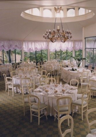 L'orangerie di Villa Acquaroli