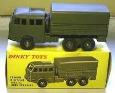 DINKY Berliet army truck