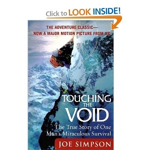 This is one of the most amazing survival stories ever told. Joe Simpson writes about his own near death experience.