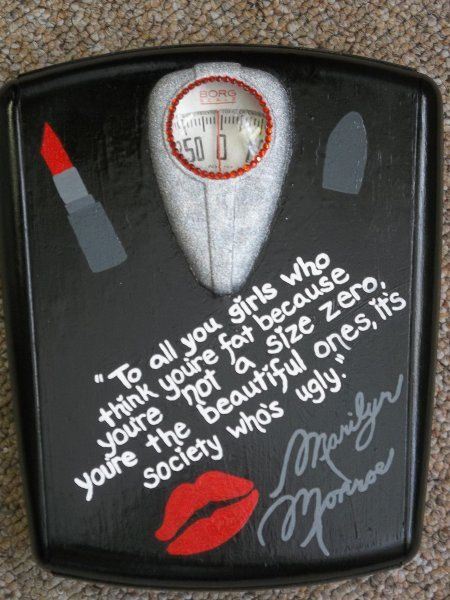 Extravagant Marilyn Monroe Quote Rhinestone by radicalrecycle, $65.00