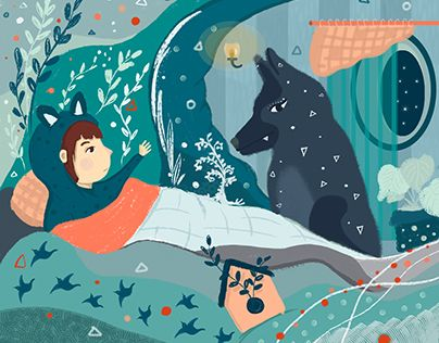"Check out new work on my @Behance portfolio: ""Illustration. Girl. Wolf"" http://be.net/gallery/60399619/Illustration-Girl-Wolf"