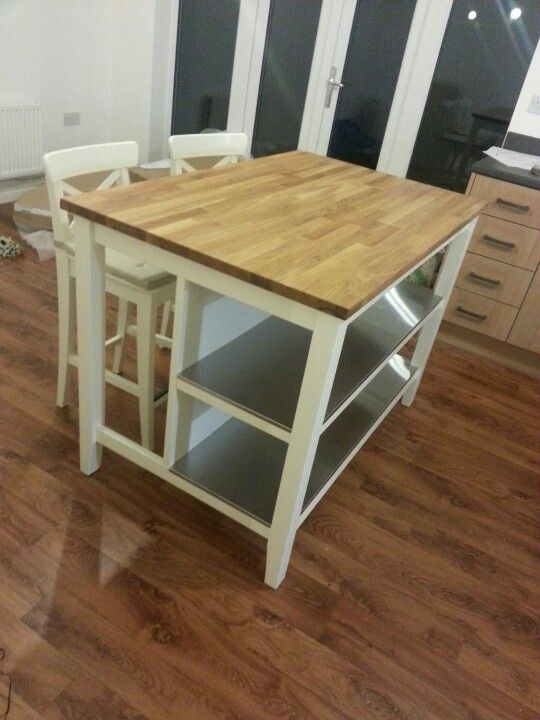 Ikea Stenstorp Kitchen Island Our New Family Heirloom