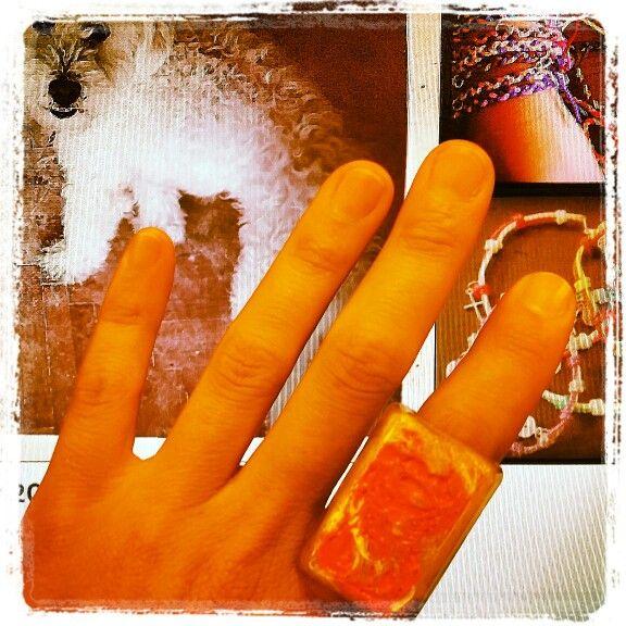 #ring #handmade #artepovera #alternative