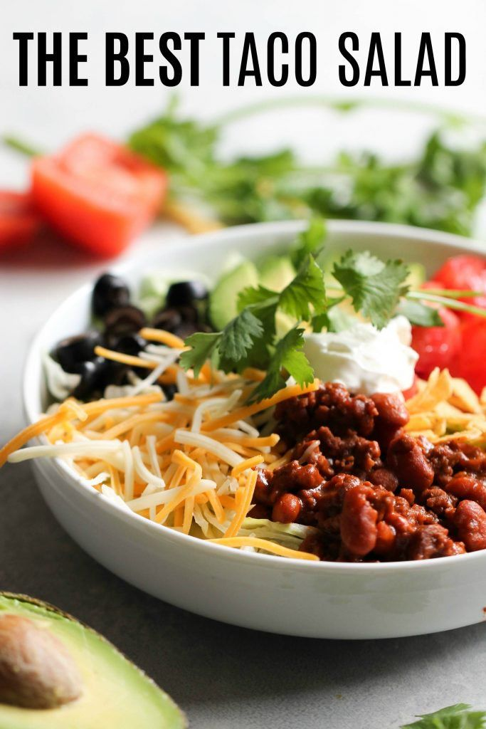 Our Family S Favorite Taco Salad