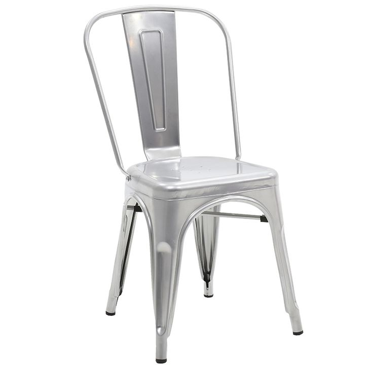 Chair Utopia metal silver