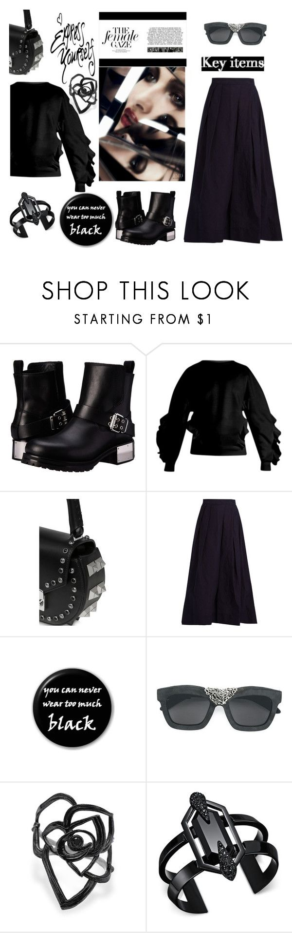 """Express yourself"" by zabead ❤ liked on Polyvore featuring McQ by Alexander McQueen, STELLA McCARTNEY, SALAR, REGULATION by Yohji Yamamoto, MANGO, Kuboraum and INC International Concepts"