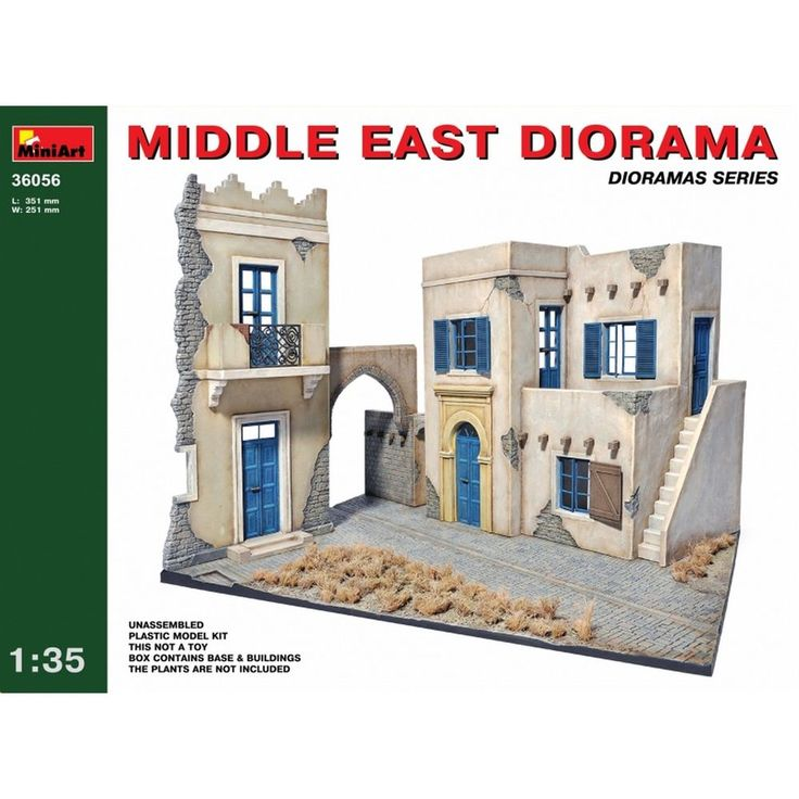 Diorama Middle East Plastic Model Kit 1/35 by MiniArt 36056 #MiniArt