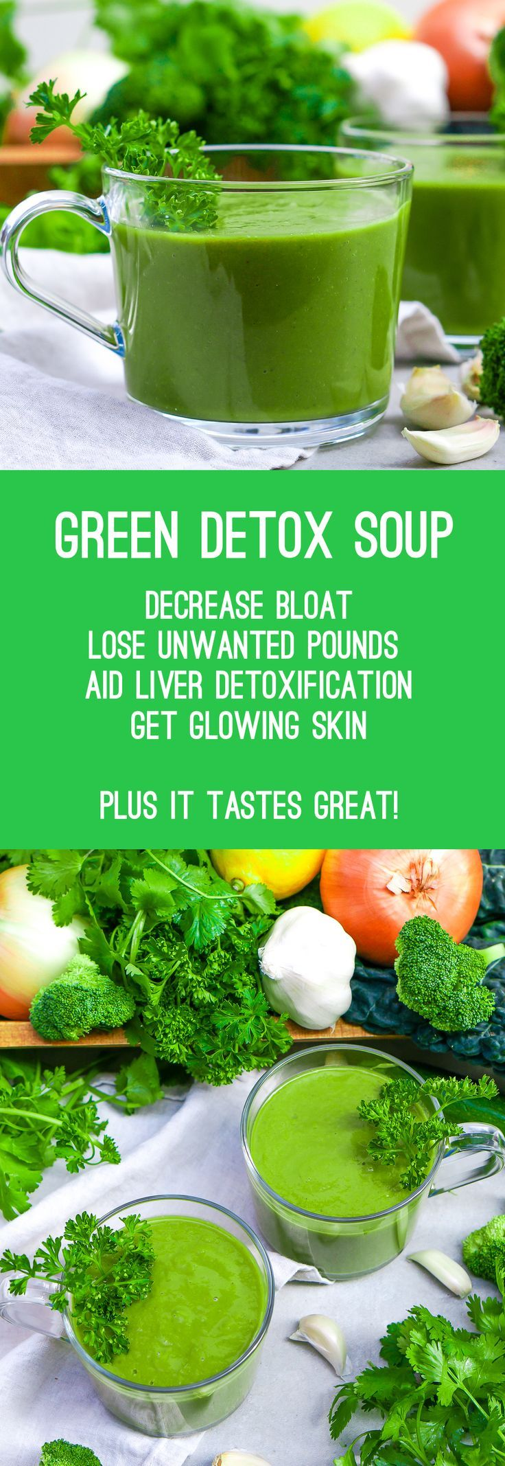 Vegan, Gluten Free, Paleo Detox Soup More More