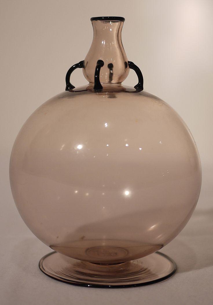 vase  vittorio zecchin - murano 20's - venini cappellin
