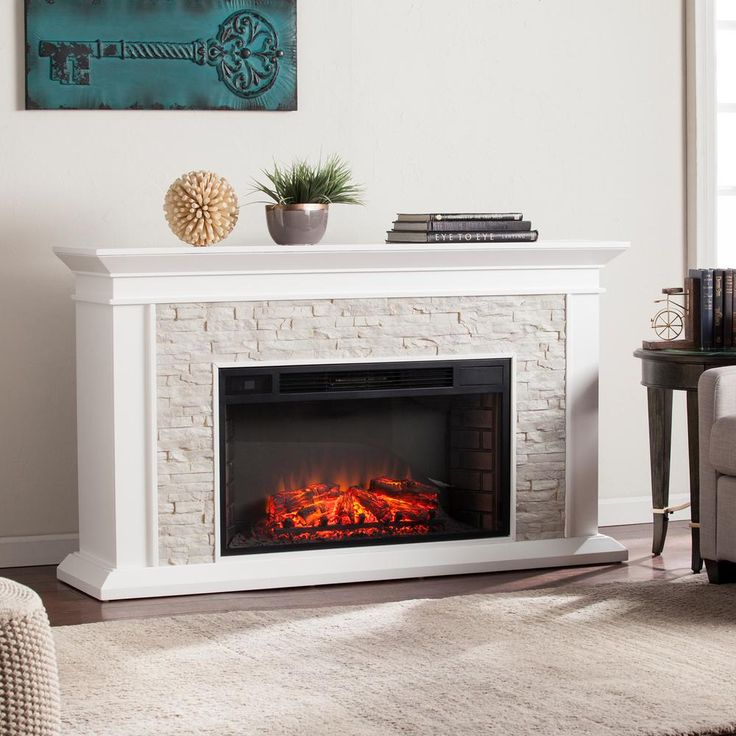 Electric Fireplace electric fireplaces home depot : The 25+ best Stone electric fireplace ideas on Pinterest